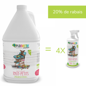 All Purpose Cleaner ''tout petit'' -  Planette products