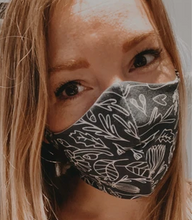 Load image into Gallery viewer, Reusable barrier Masks - Women and adolescent