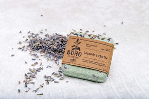 Solid bubble bath - Natural ingredients hand made