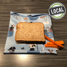 Load image into Gallery viewer, Reusable sandwich bag - locally made