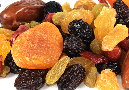 Dried fruits, Oils and Vinegars!