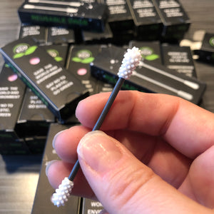 Reusable swab for ears and makeup - box of two.