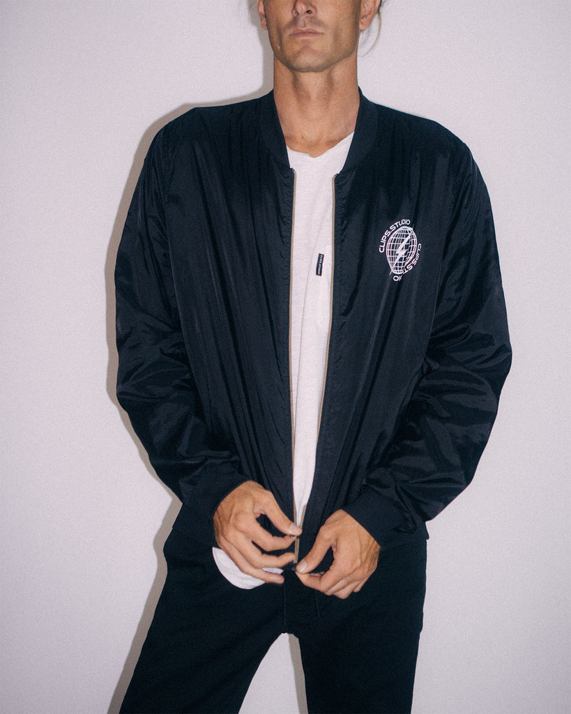 CLIPS. BOMBER JACKET