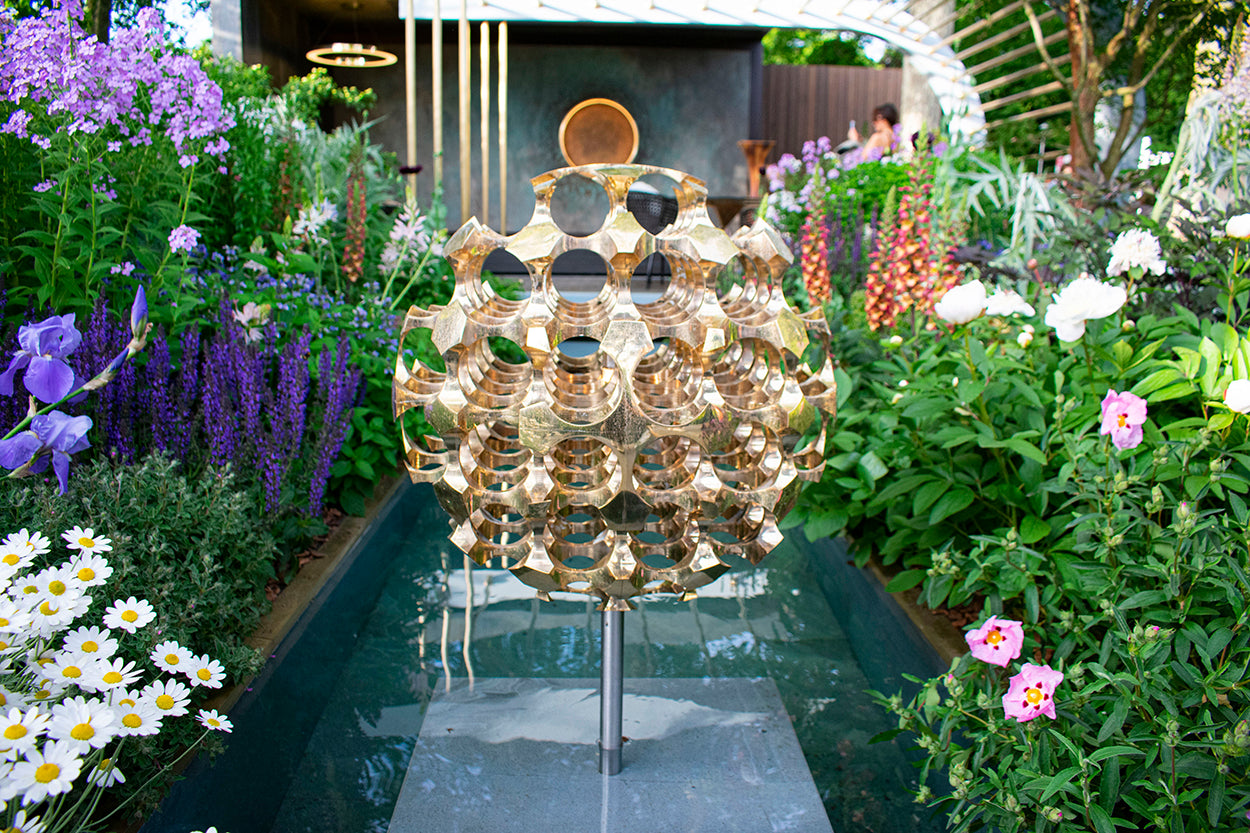 our new kasvaa pendant at the morgan stanley garden for rhs chelsea