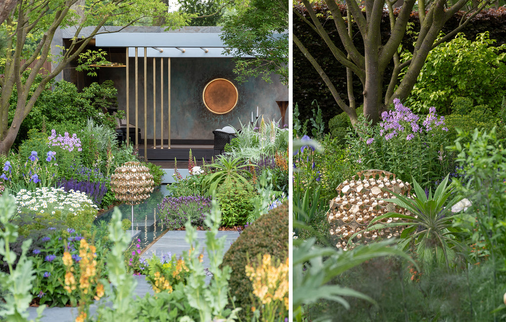 Chelsea Flower Show Kasvaa Light at the Morgan Stanley Chris Beardshaw Garden