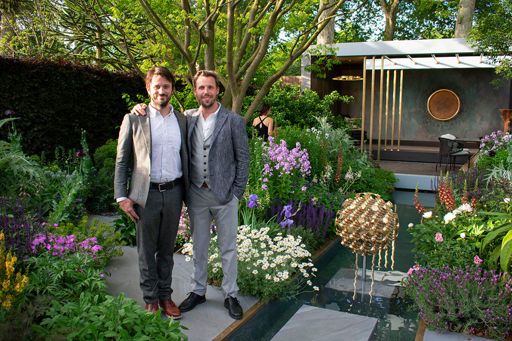 Cameron Design House Ian Cameron and Simeon Chilvers at RHS Chelsea Flower Show