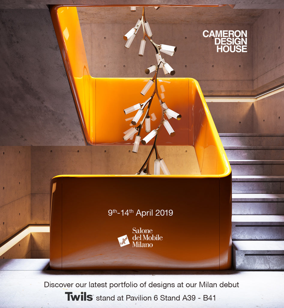 Cameron Design House at Salone di Mobile Milano 2019