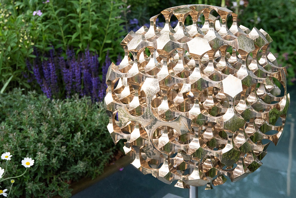 RHS Chelsea Flower Show Kasvaa Lighting at the Morgan Stanley Chris Beardshaw Garden