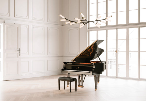 Cameron Design House Steinway Haara Chandelier for London Design Festival