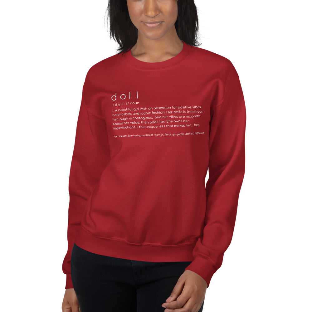 The Doll Redefined Sweatshirt