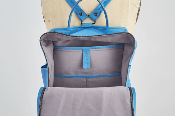 Nora Backpack | Ocean Blue - A R A M L E E ®