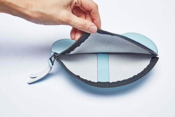 Sample | Cloud Pouch | 6 colors available - A R A M L E E ® Convertible Transformable Italian Leather Handbag Backpack Purse
