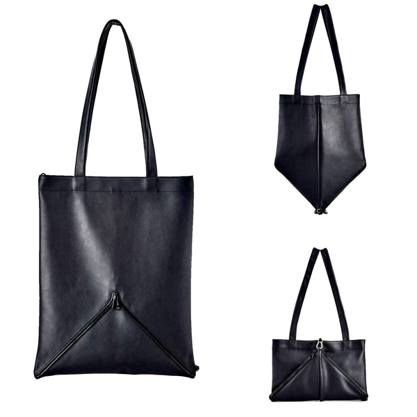 Sample | Mari Tote | 2 colors available - A R A M L E E ® Convertible Transformable Italian Leather Handbag Backpack Purse