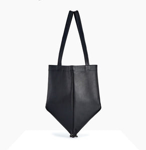 Mari Tote | Black - A R A M L E E ® Convertible Transformable Leather Handbag