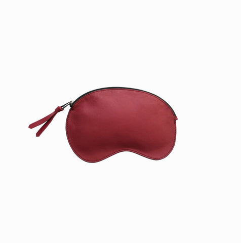 Cloud Pouch | Burgundy - A R A M L E E ® Convertible Transformable Italian Leather Handbag Backpack Purse