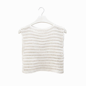 Mara Crochet Crop Top - A R A M L E E ®