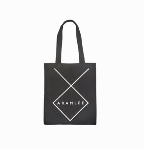 Logo Canvas Tote / Black