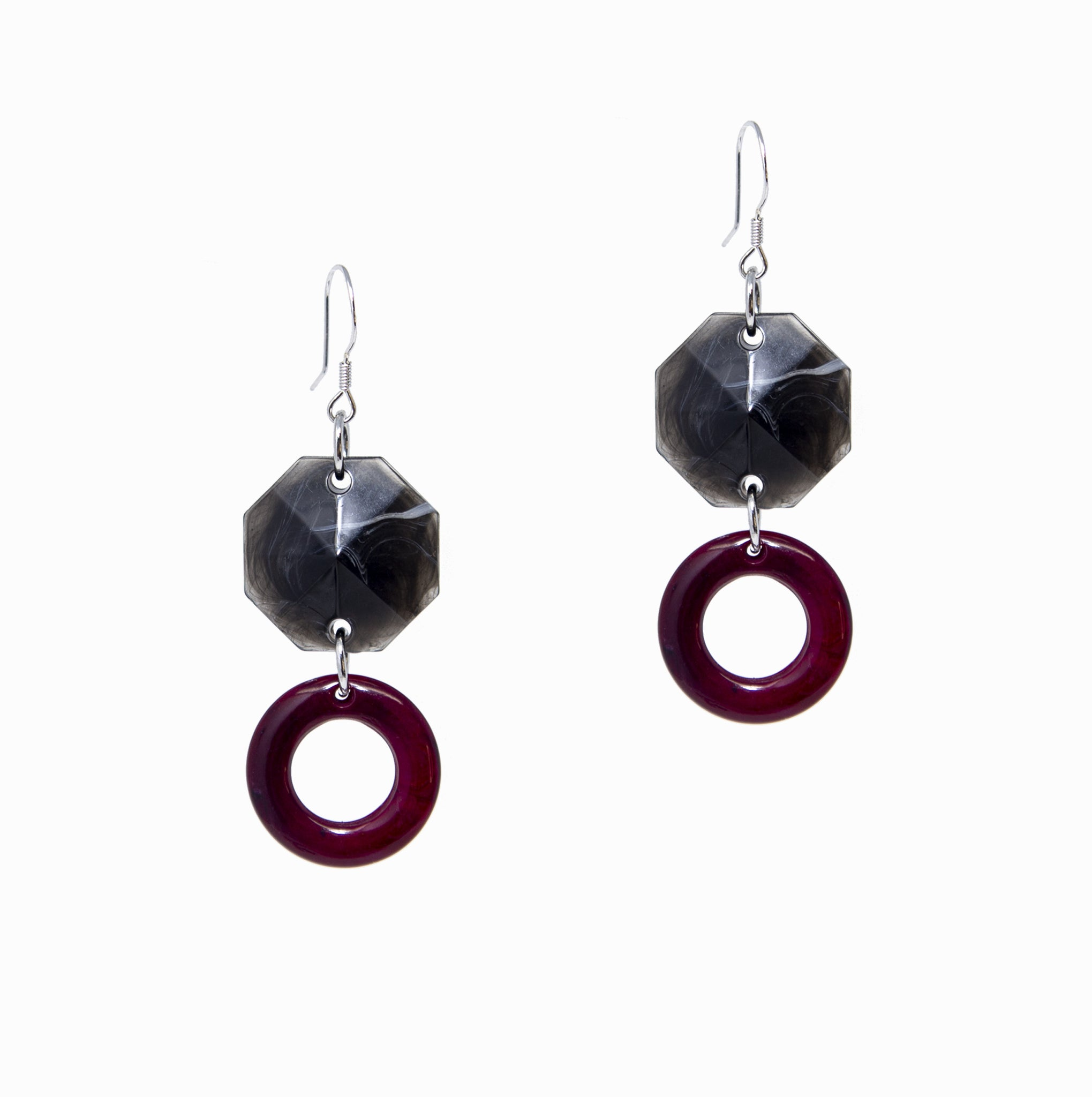 Jewels Earrings | Onyx - A R A M L E E ®