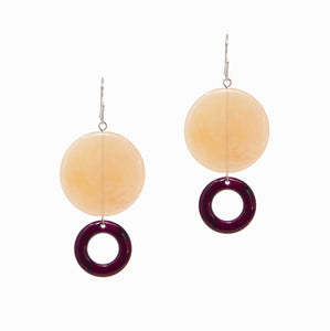 Jewels Earrings | Peach - A R A M L E E ®