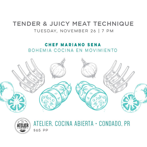 Tender & Juicy Meat Technique