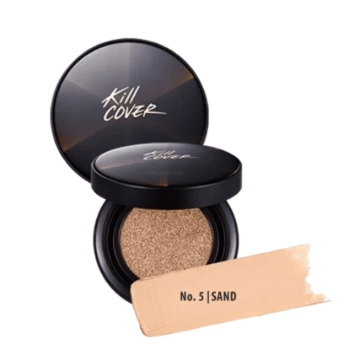 Clio. Kill Cover Conceal Cushion SPF45 PA++ With Refill [#05 Sand] CUSHION FOUNDATION - Lady Bonita