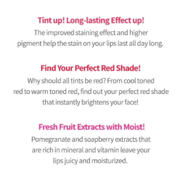 Etude House. Dear Darling Water Gel Tint [#OR201 Kumquat Red] TINT - Lady Bonita