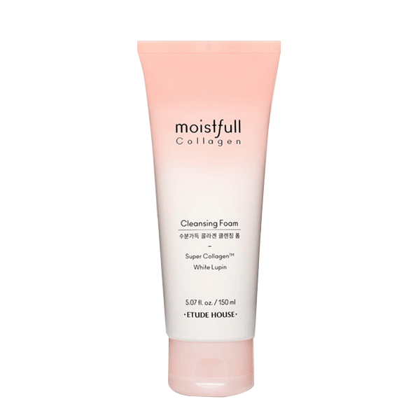 Etude House. Moistfull Collagen Cleansing Foam [New] FOAM CLEANSER - Lady Bonita