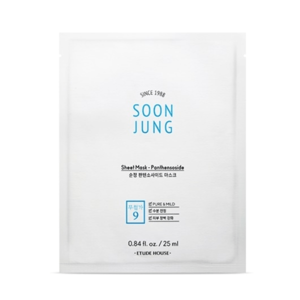 Etude House. SoonJung Sheet Mask Panthensoside SHEET MASK - Lady Bonita