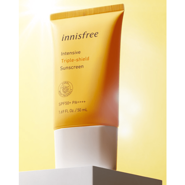 Innisfree. Intensive Triple Shield Sunscreen SPF50+ / PA++++ SUN CREAM - Lady Bonita