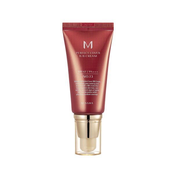 Missha. M Perfect Cover BB Cream [#13 Bright Beige] BB CREAM - Lady Bonita