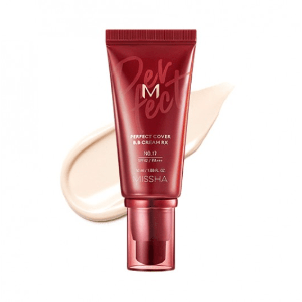 Missha. M Perfect Cover BB Cream RX [#17 Bright Beige] BB CREAM - Lady Bonita