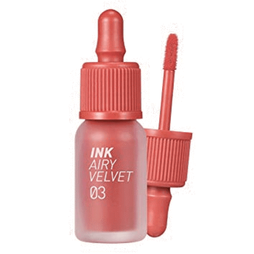 Peripera. Ink Airy Velvet [#03 Cartoon Coral] TINT - Lady Bonita