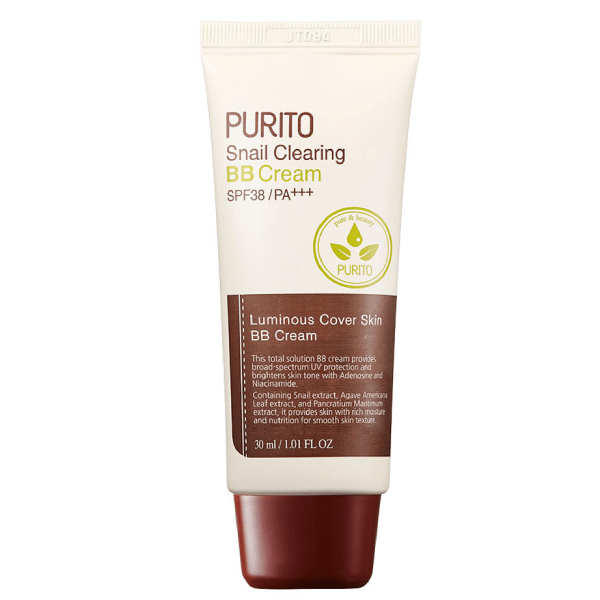 Purito. Snail Clearing BB Cream SPF38 PA+++ [#27 Sand Beige] BB CREAM - Lady Bonita