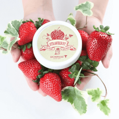 Skinfood. Black Sugar Strawberry Mask Wash Off MASK - Lady Bonita