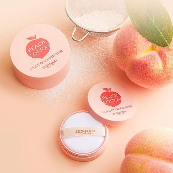 Skinfood. Peach Cotton Multi Finish Powder [Small] POWDER - Lady Bonita