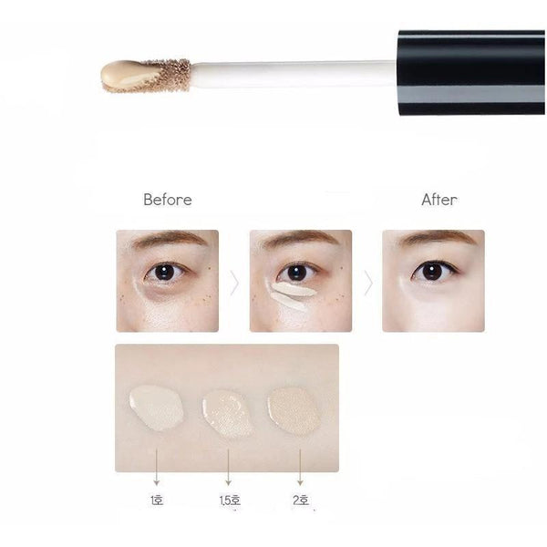 The Saem. Cover Perfection Tip Concealer SPF28 PA++ [#01 Clear Beige] CONCEALER - Lady Bonita