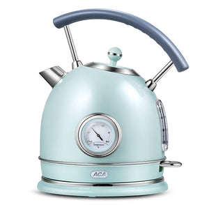 Electric kettle household kettle heat preservation 304stainless steel anti-dry burning retro small