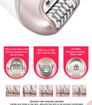 5 in 1 Rechargeable Electric Women Shaver Epilator Shaving Hair Removal Scraping Female Body Depilation Machine Depilator