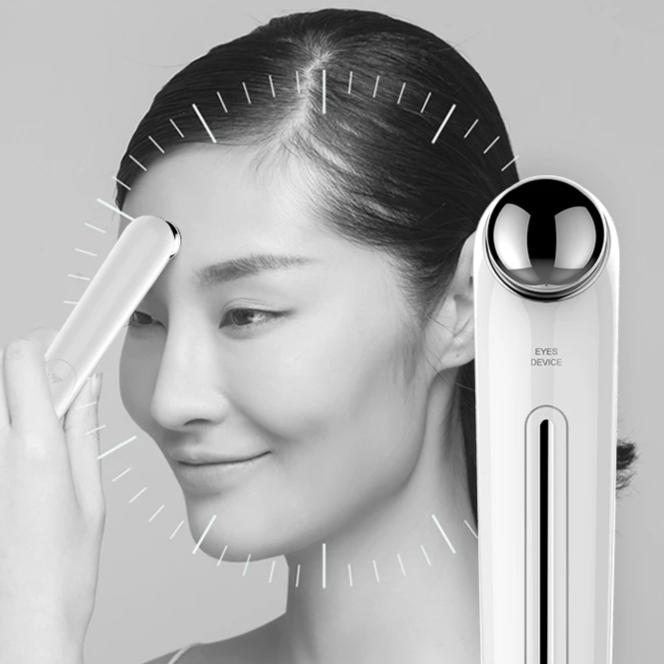 Eye Massager Anti Aging Wrinkle Eye Patch Ion Relief Massage Machine Rejuvenation Beauty Care Portable Pen Eye Care Tools