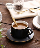 Tea Cups Nordic Reusable Coffee Cup Set Espresso Cups Water Fine Bone China Cute Cappuccino Cup Christmas Crockery Home 5P65