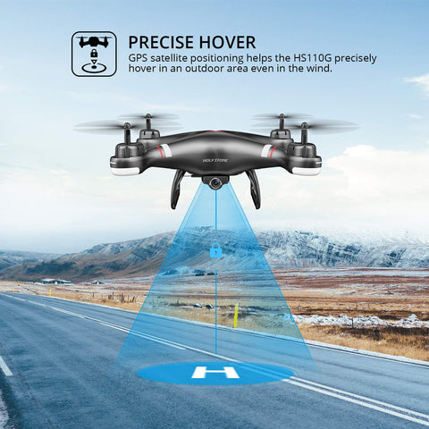 Holy Stone HS110G GPS Drone WIFI FPV 1080P HD Camera RC Drone GPS Follow Me Profissional Live Video Auto Hover RC Quadcopter