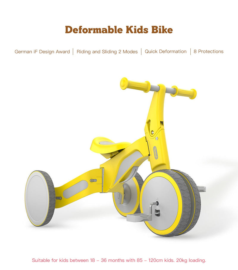 Hot Kids Ride On Toys 700Kids Deformable Dual Mode Bike For Baby Children Scooter Bike Intelligence Toy Gifts