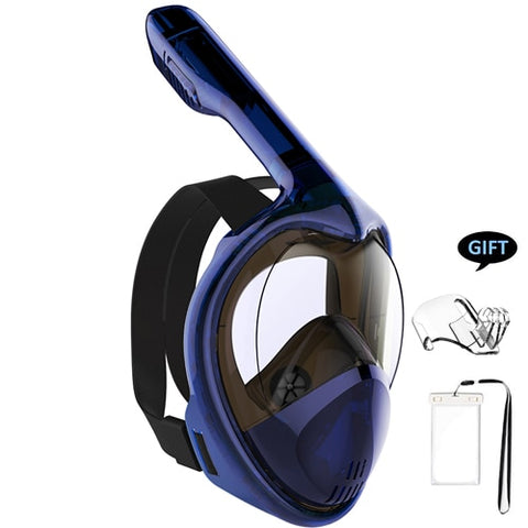 Image of Panoramic View Anti-Leak Swimming Diving Mask GoPro Compatible