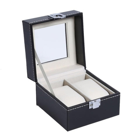 2/3/6/10/12 PU Leather Watch Box Case Professional Holder Organizer for Clock Watches Jewelry Boxes Case Display best gift