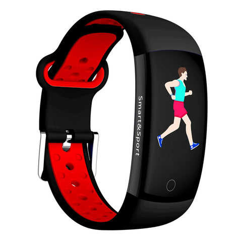 Image of Q6S Smart Bracelet Colors 3D dynamic Blood Pressure Heart Rate Monitor Smartband Wristband Waterproof Sports Fitness Watch Ban
