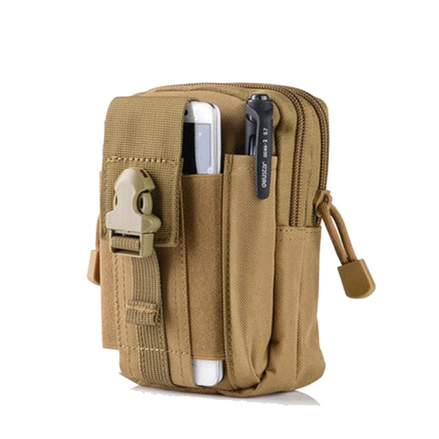 2019 Men Waist Pack Bum Bag Pouch Waterproof Military Belt Waist Packs Molle Nylon Mobile Phone Wallet Travel Tool Leg Bag