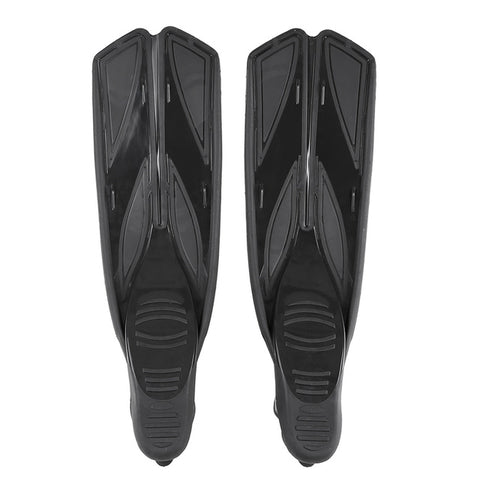 Image of Snorkeling Diving Swimming Fins Foot Fins Flippers Flexible Comfort Adult Profession Diving Fins Swimming Fins Water Sports