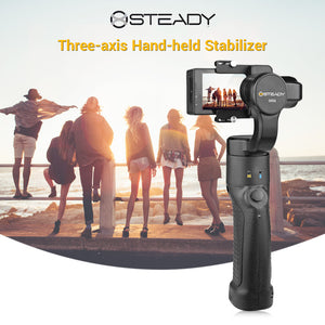Xsteady Three-axis Hand-held Stand Sports Camera Stabilizer