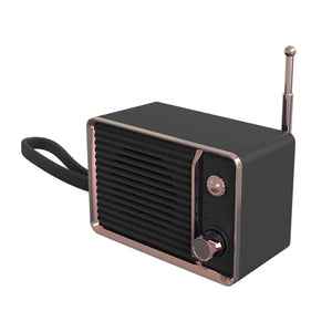 Rechargeable Vintage Speaker with USB & Bluetooth Portable Classic Old Speakers