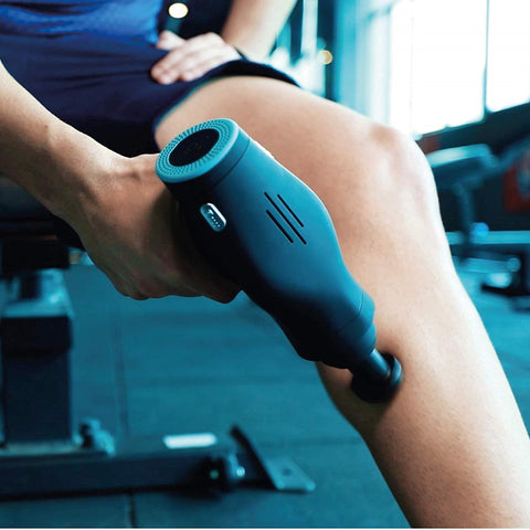 Massage Pistol Powerful Handheld Deep Tissue Muscle Percussion Massager for Trigger Points Athletes Pain Relief Body Slimming
